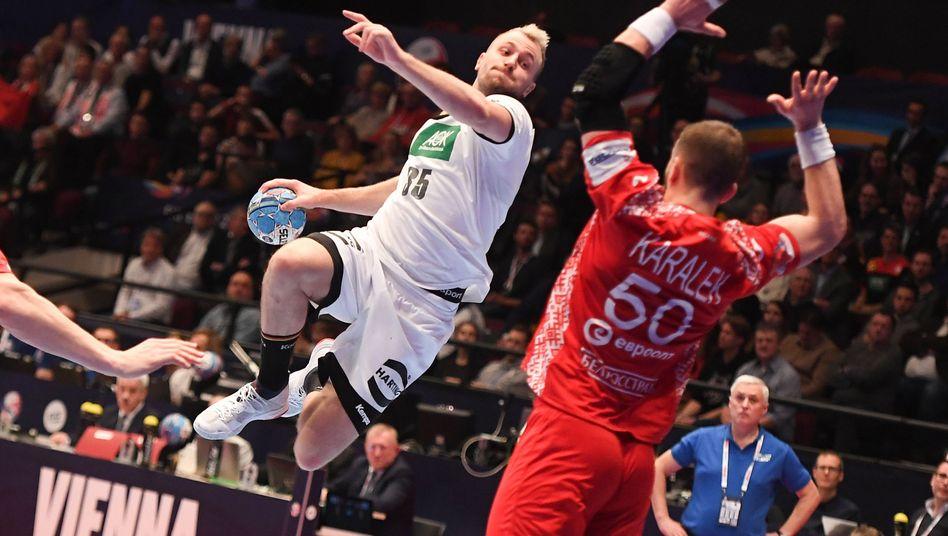 Handball-EM 2020: Deutschland lässt Weißrussland keine Chance