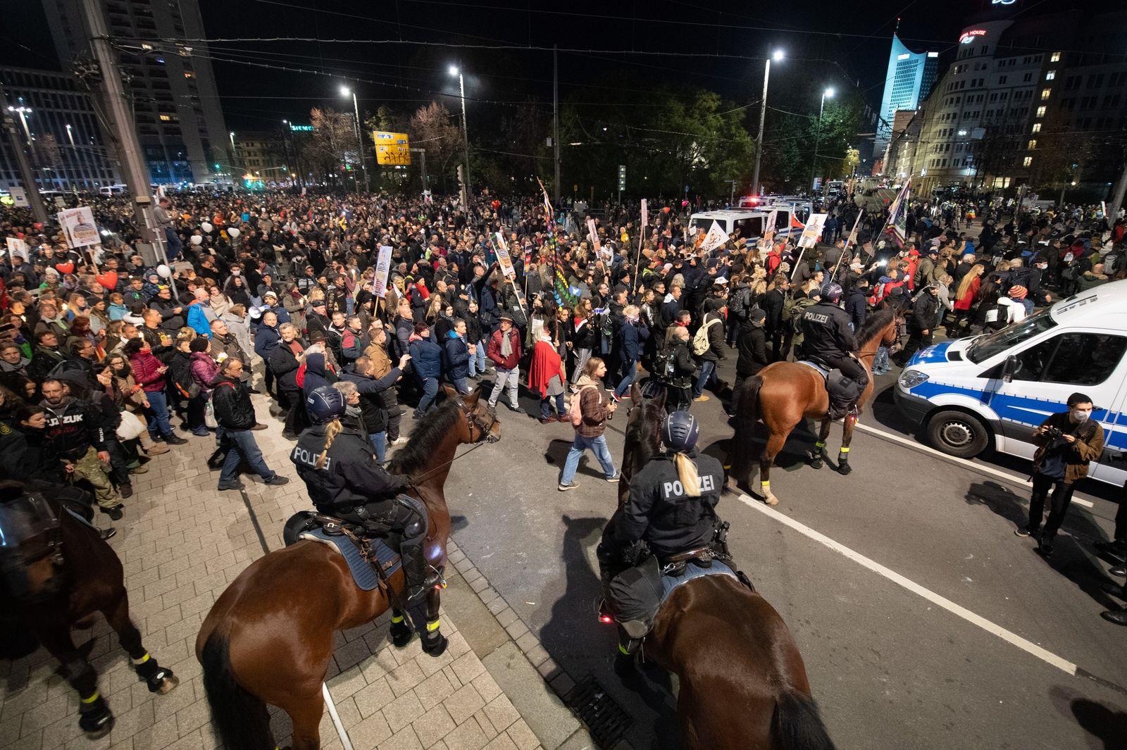 ·Querdenken· - Demo · Leipzig