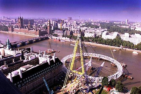 Das weltgrößte Riesenrad in London
