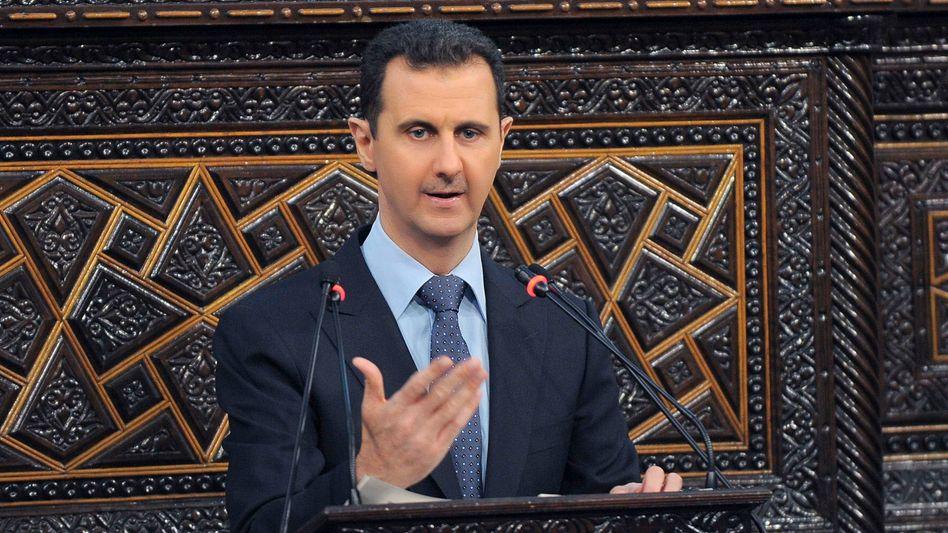 Baschar al-Assad (2012): Inszenierung einer Legitimität als Staatschef