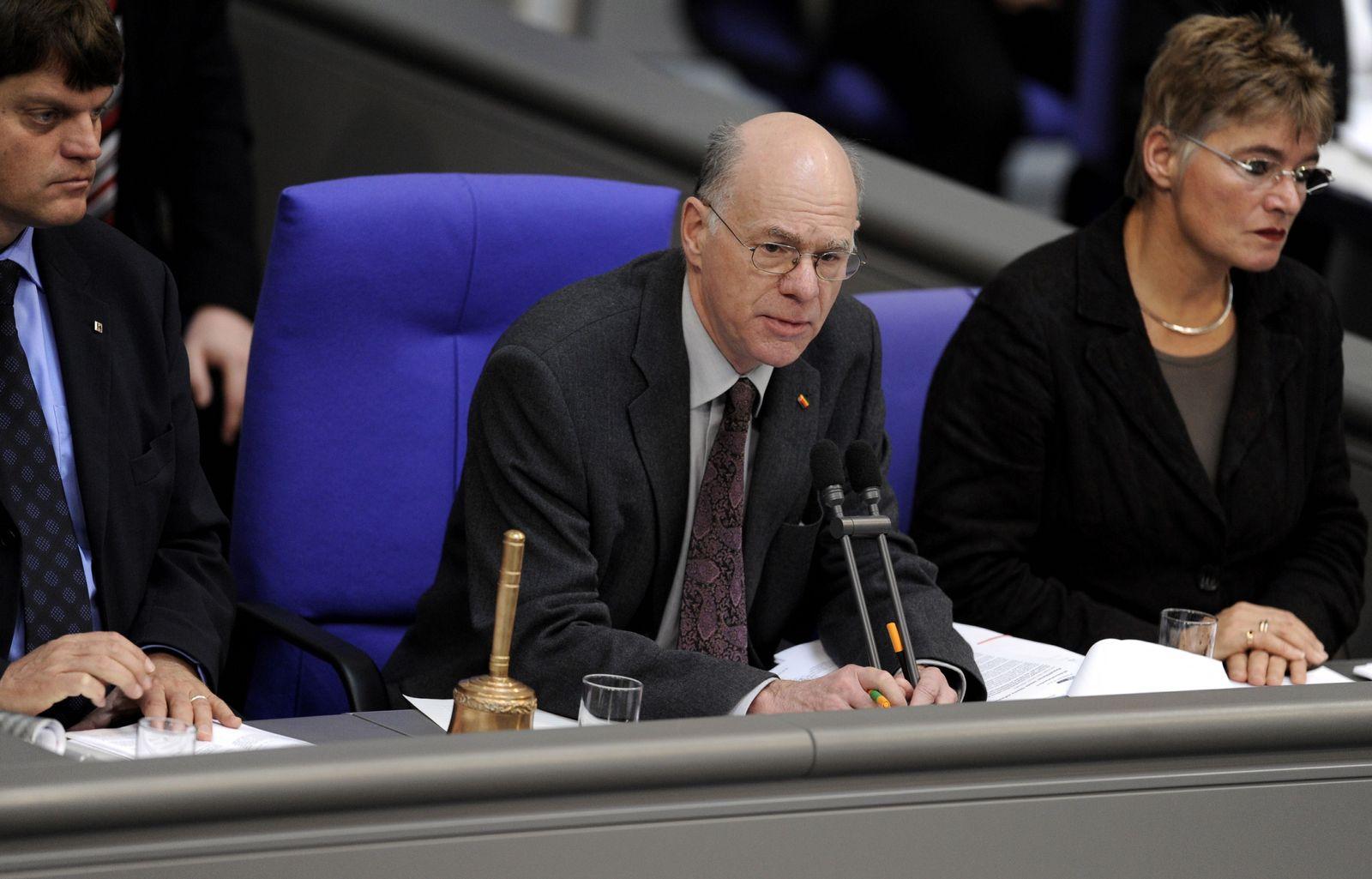 NICHT VERWENDEN Bundestagspraesident Norbert Lammert