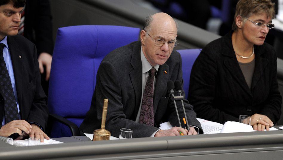 "Bundestagspräsident Norbert Lammert: ""Nicht mehr allen Wünschen entsprechen"""