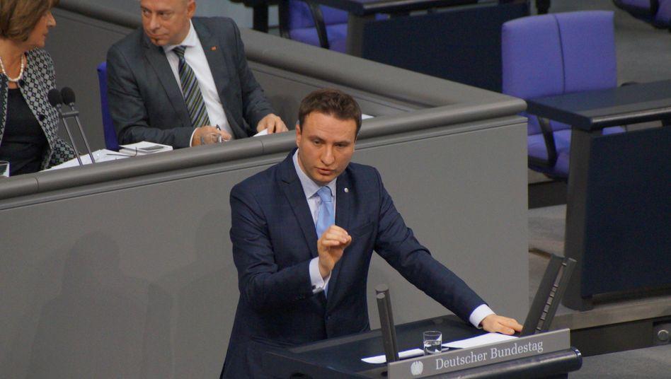 Ex-CDU-Abgeordneter Hauptmann im Bundestag (Archiv)