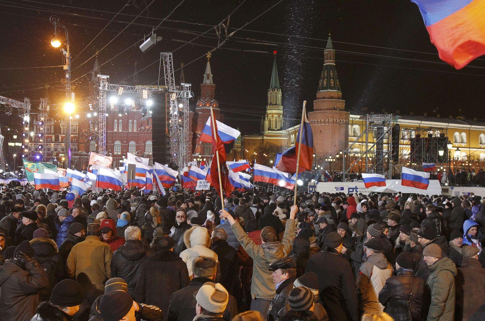 Russland Präsidentenwahl