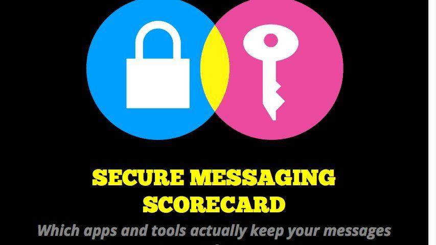 Secure Messaging Scorecard der EFF: Wie sicher verschlüsseln Chat- und E-Mail-Programme?