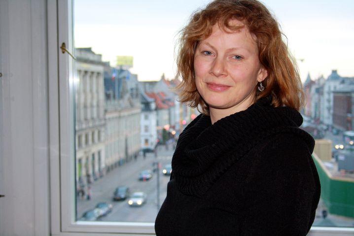 Katrin Herholdt, 38, Business-Dänisch ist noch nicht fließend, die Dänen stört das aber nicht.