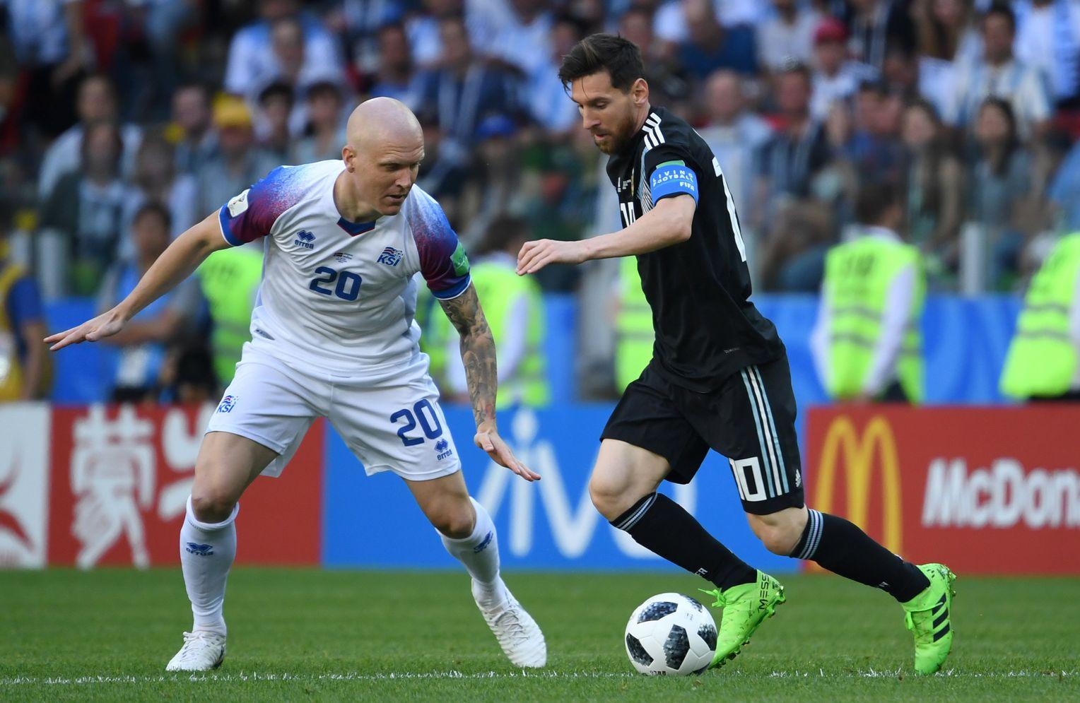 Island Vs Argentinien