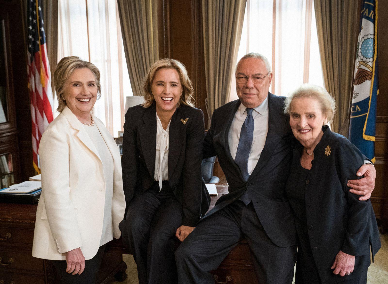 EINMALIGE VERWENDUNG TV/ Madam Secretary/ Clinton