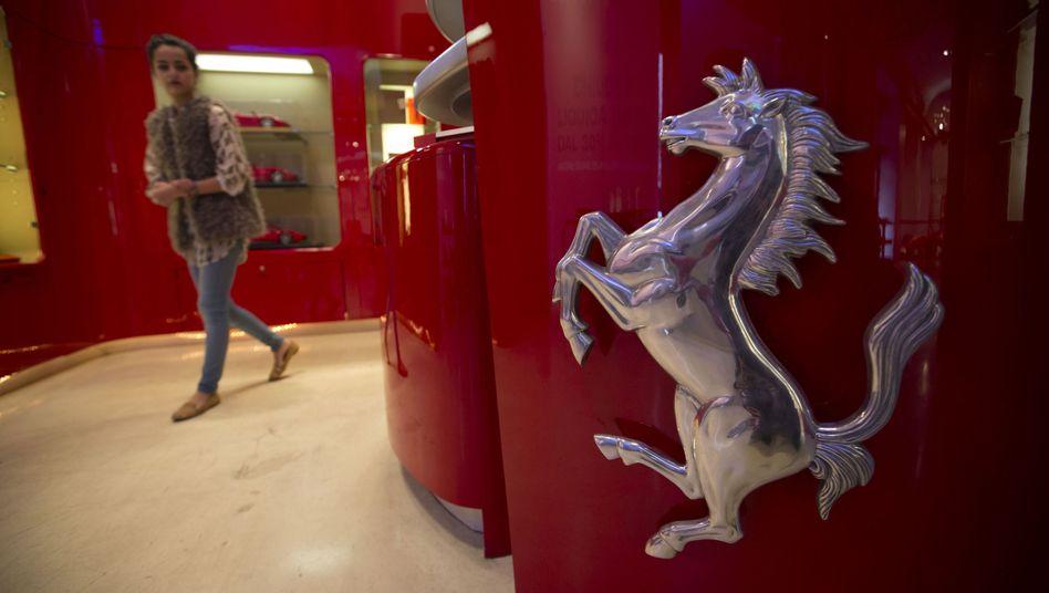 Markenzeichen: Ferrari gehört zu den Ertragsbringern im Fiat-Chrysler-Konzern