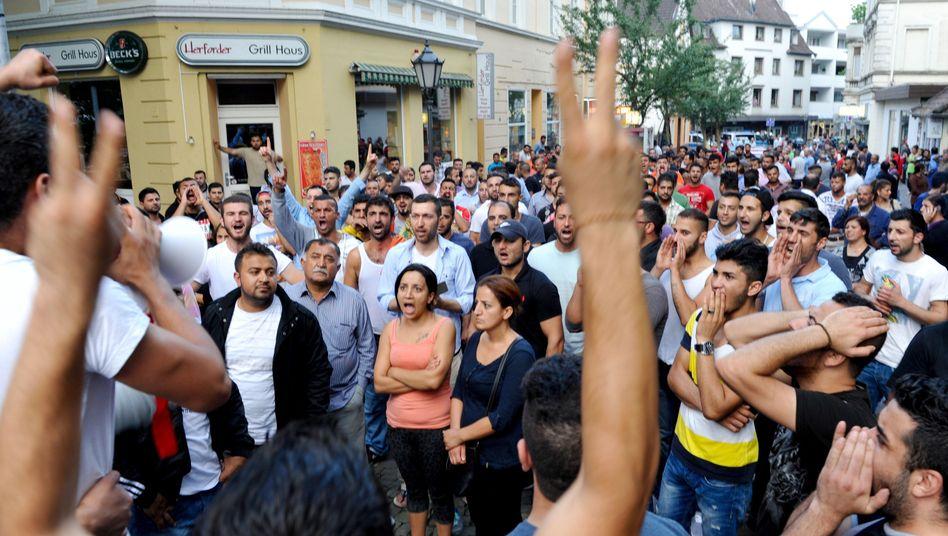 Jesiden in Herford: Gegenseitige Attacken