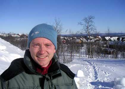 Forscht in Lappland am Raketenbau mit: Mario Riedel, 30
