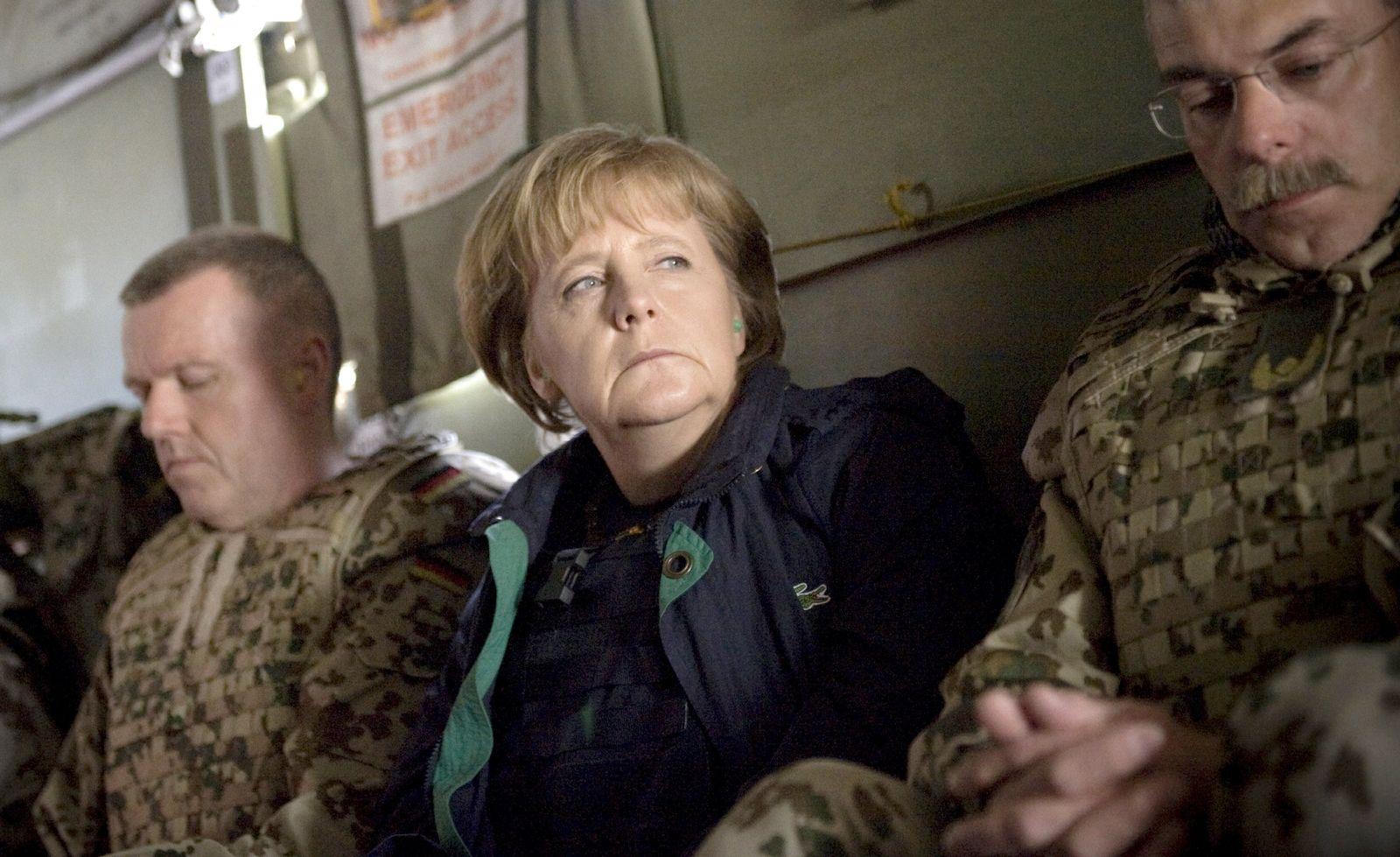 Merkel Afghanistan