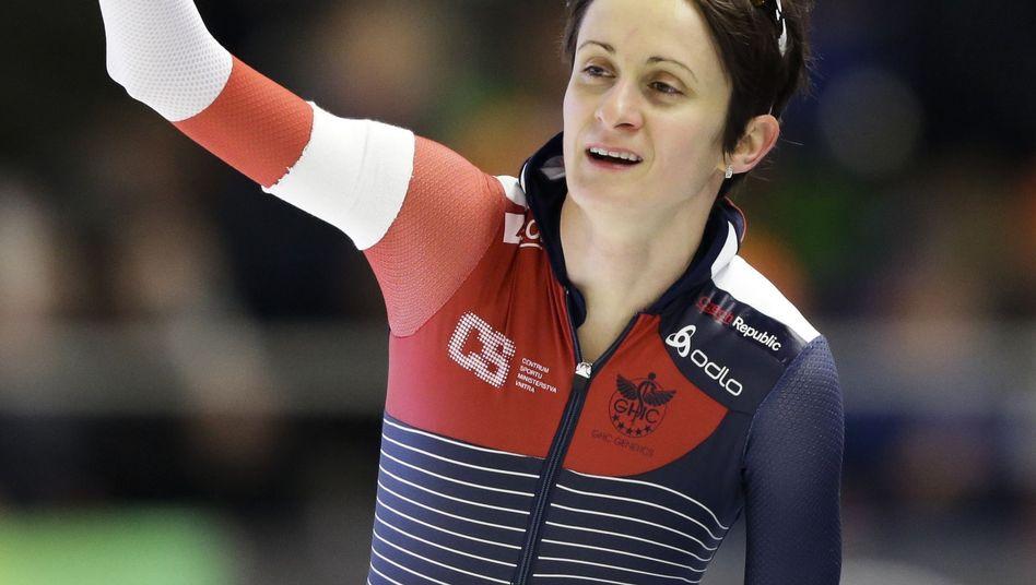 Eisschnelllaufstar Martina Sablikova