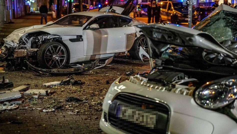 Unfallstelle in Stuttgart (im März 2019): Unfall nach 50 Sekunden Fahrt