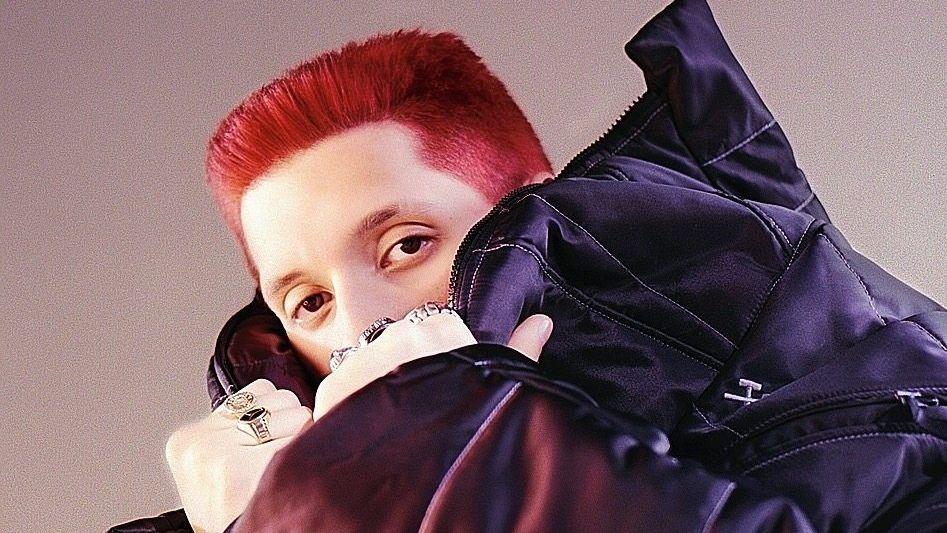 Musiker Rin Ein Rapper, der ein Fachwerkhaus besitzen möchte