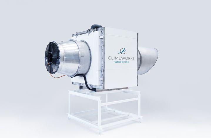 CO2-Filter der Firma Climeworks