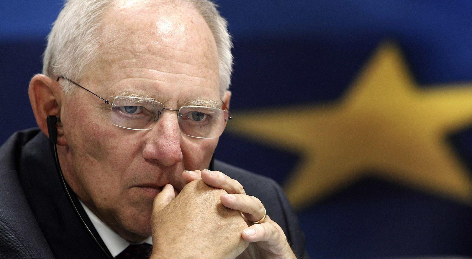 Wolfgang Schäuble / Griechenland-Hilfe