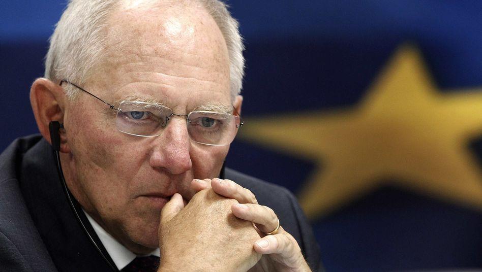 Finanzminister Schäuble: Wahlpolitisches Kalkül?