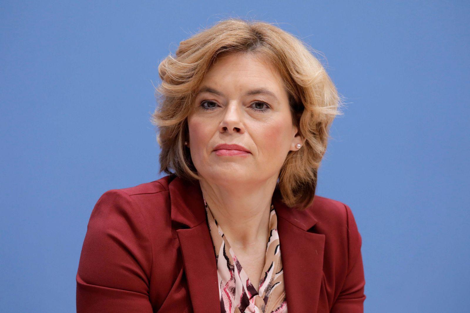 Julia Kloeckner, Bundesministerin fuer Ernaehrung und Landwirtschaft, CDU, PK zu - 20 Jahre Bio-Siegel - Ergebnisse des