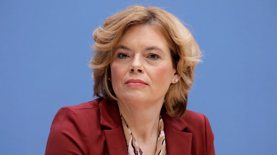Landwirtschaftsministerin Julia Klöckner (CDU)