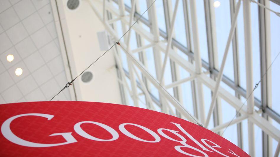 Google-Logo: Der Internetgigant widerspricht Gerüchten, er plane eigene Läden