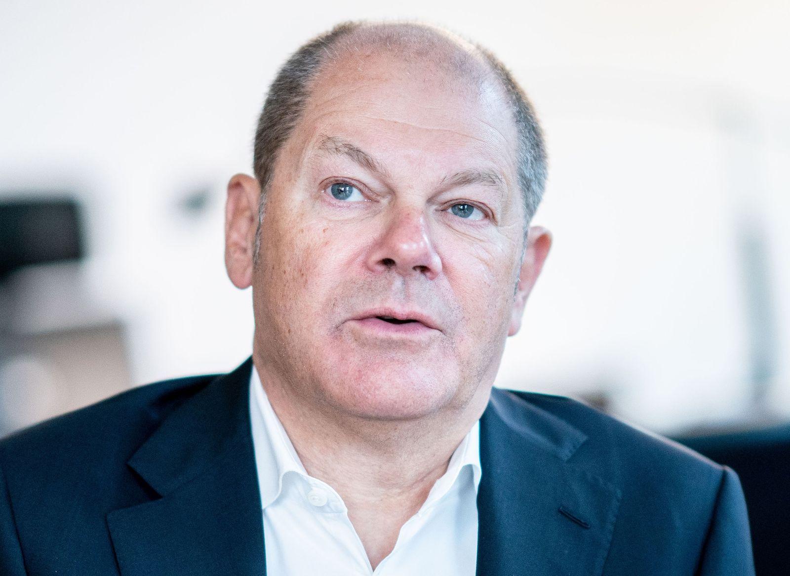 Scholz rügt Union für harte Haltung im Soli-Streit