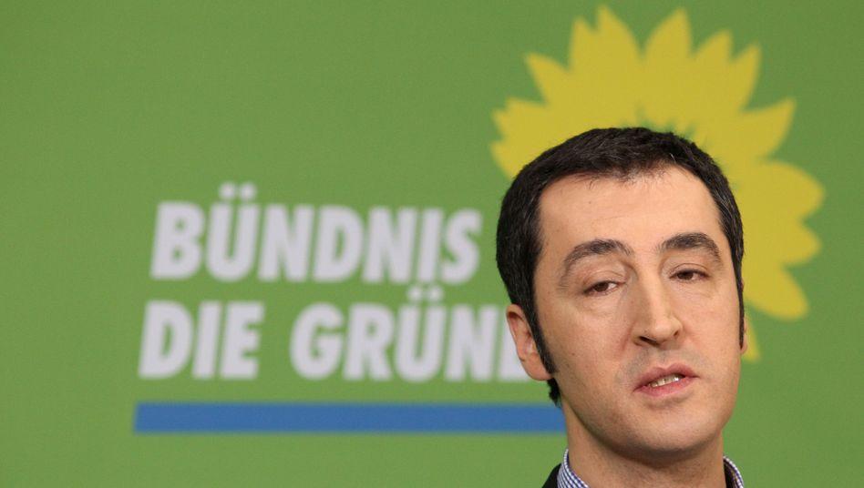 Grünen-Chef Özdemir: Angst vor dem Absturz im Superwahljahr