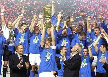 Ganz Berlin war nach dem Pokalfinale königsblau