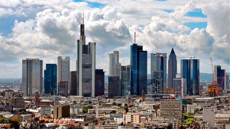 """Skyline in Frankfurt am Main: """"Das ist ein enormer Aufwand für die Institute"""""""