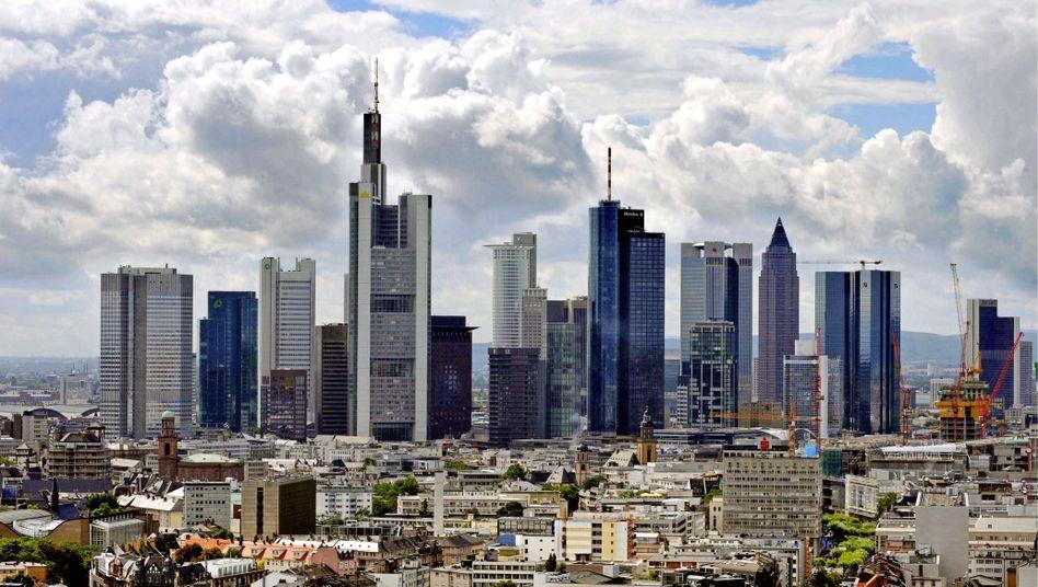 Bankenviertel in Frankfurt: 523 Banken nehmen EZB-Geld