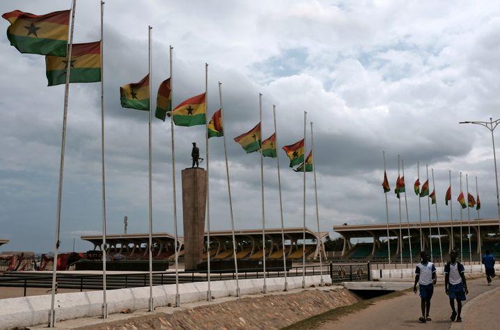Staatstrauer in Ghana nach dem Tod von Kofi Annan, dem langjährigen Uno-Generalsekretär