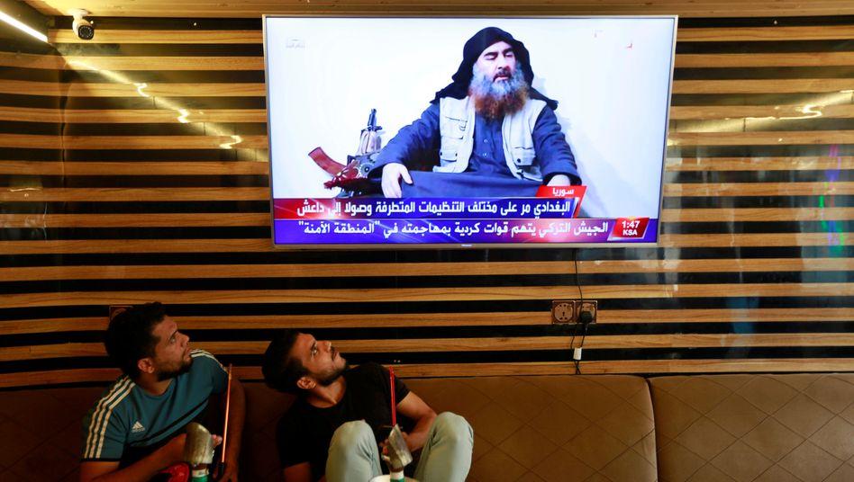 IS-Chef Abu Bakr al-Baghdadi im Oktober 2019 – kurze Zeit später wurde er von US-Spezialkräften in Syrien getötet