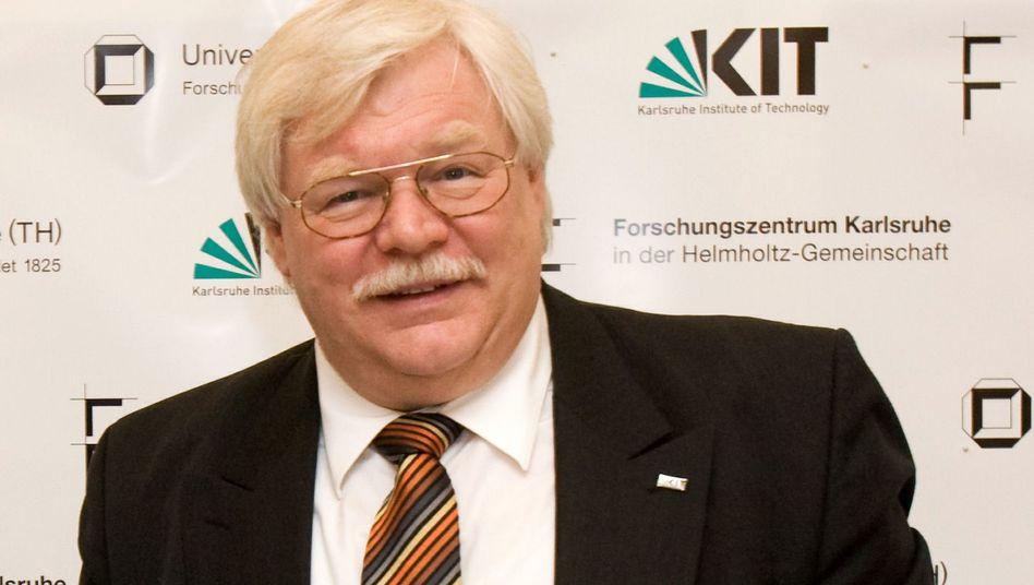 Umstrittener Präsident: Horst Hippler (Archivbild) bringt viele Kollegen gegen sich auf