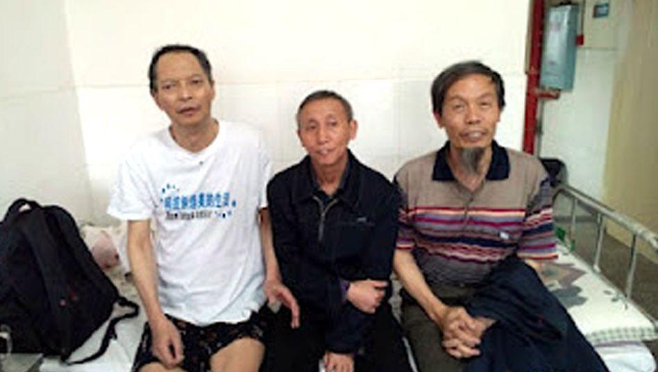 Bürgerrechtler Li (l./Archivbild): Tod im Krankenhaus