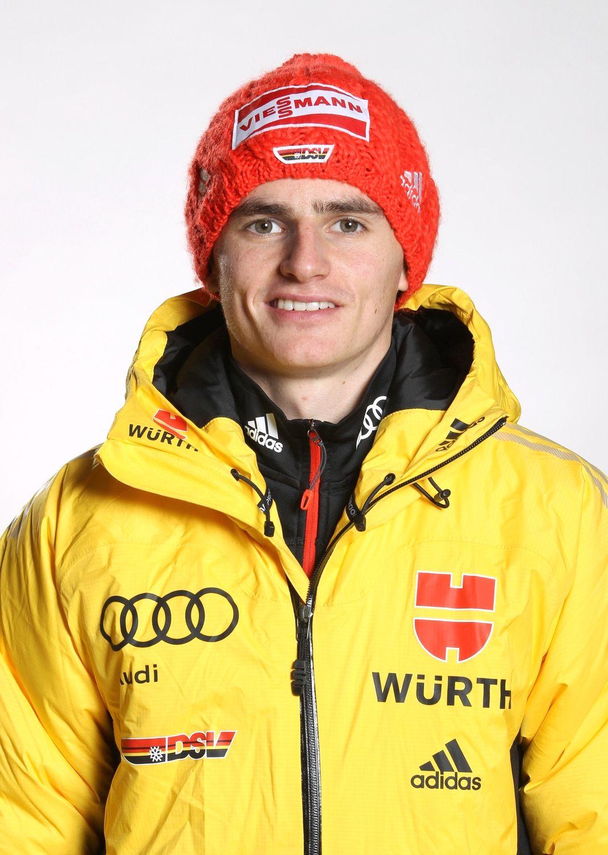 EINMALIGE VERWENDUNG Skispringer/ Richard Freitag