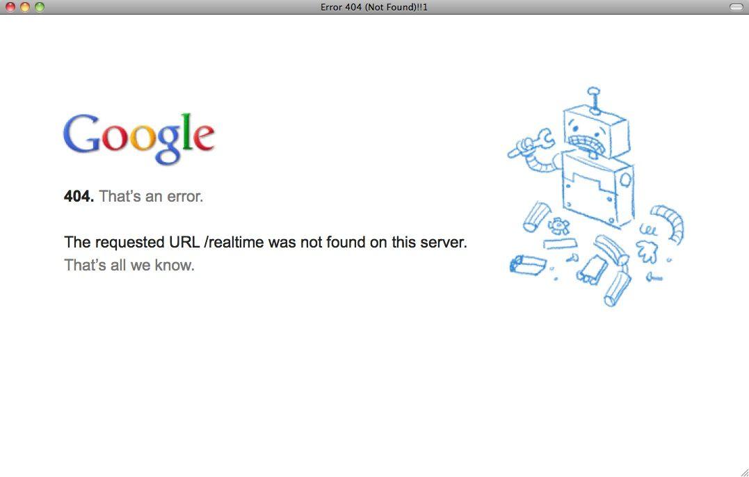 SCREENSHOT Google Realtime Search / Offline / NETZWELT