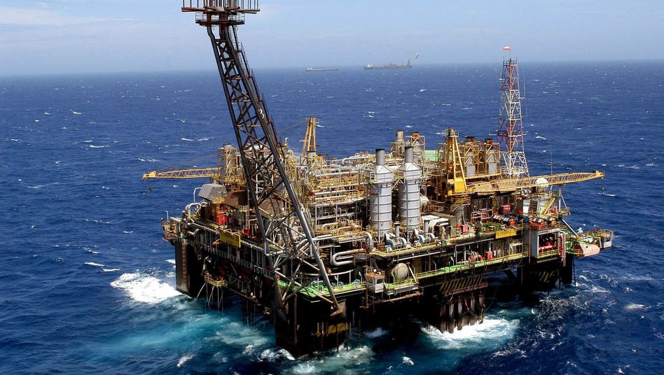 Ölförderung vor der brasilianischen Küste
