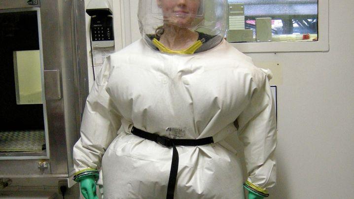 Forschen im Hochsicherheitstrakt: Vorsicht, Virus