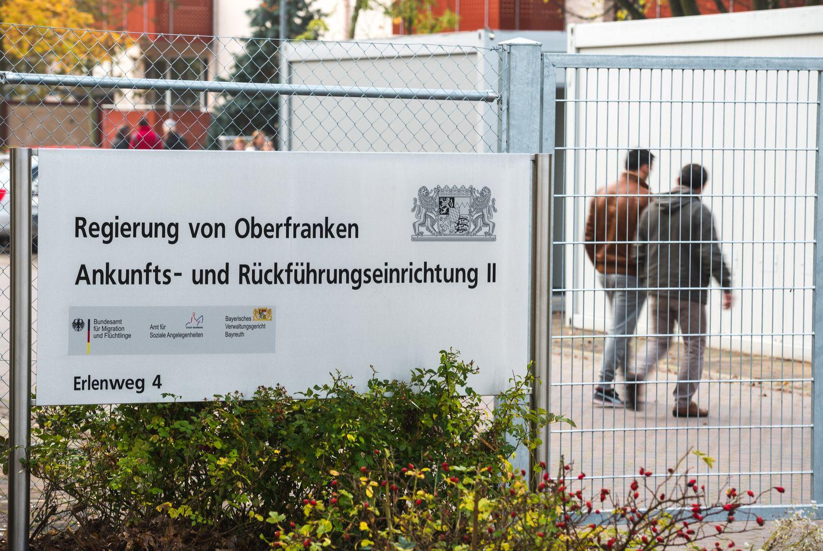 Rückführungseinrichtung für Flüchtlinge in Bamberg