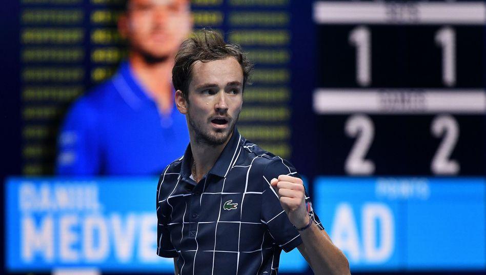 Daniil Medwedew: »Im dritten Satz habe ich wahrscheinlich das beste Tennis meiner Karriere gespielt«
