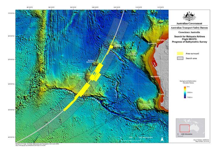 Unterwasser-Topografie: 60.000 Quadratkilometer Ozean vor Australiens Küste