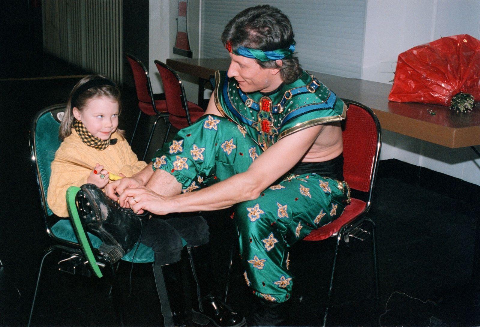 Norbert Schramm mit Tochter Bernadette,;'Xotica-Journey to the h