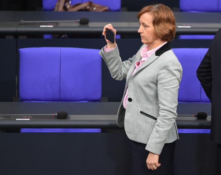 Beatrix von Storch (AfD) im Bundestag