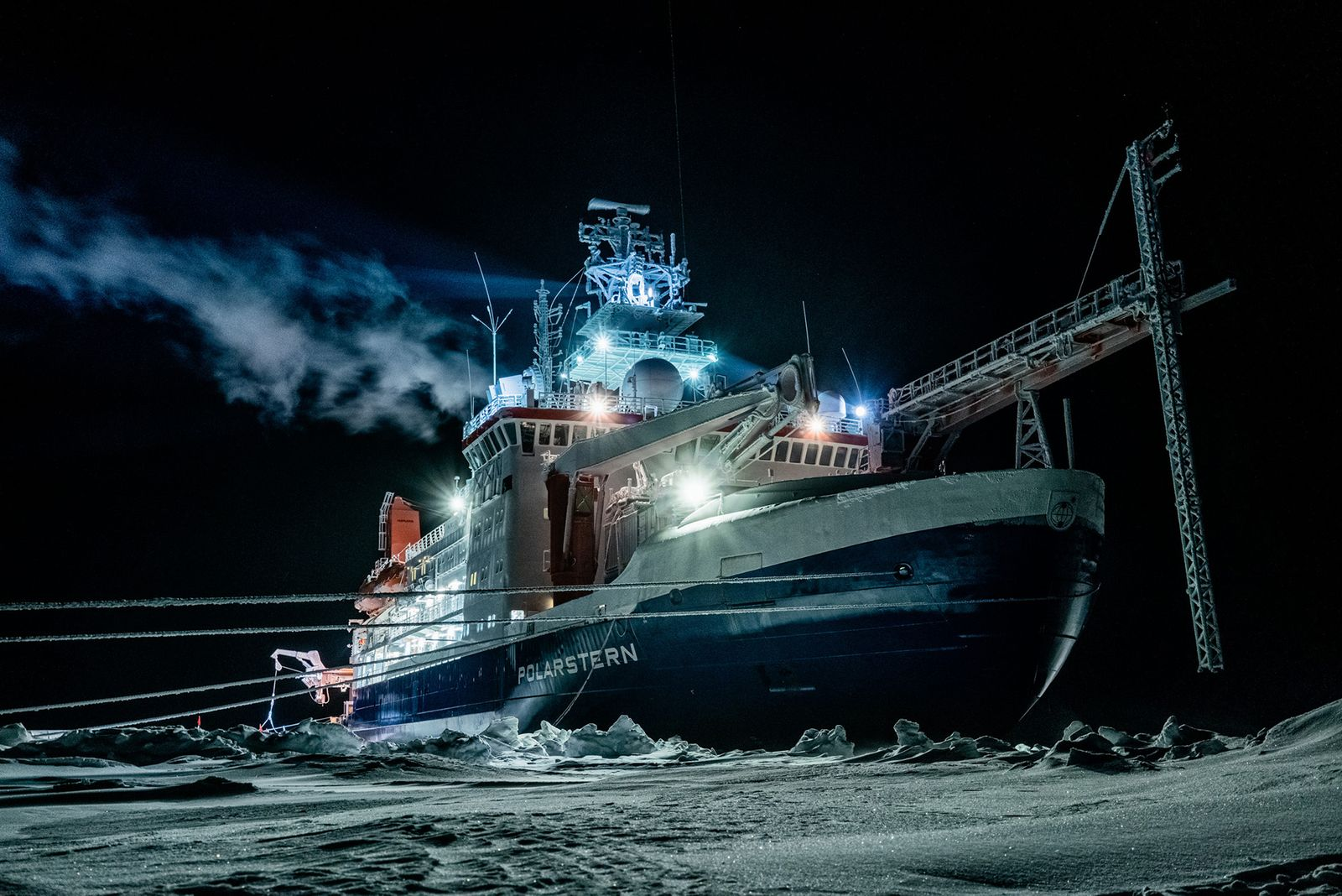 GERMANY-ARCTIC-SCIENCE-RESEARCH-CLIMATE-POLARSTERN