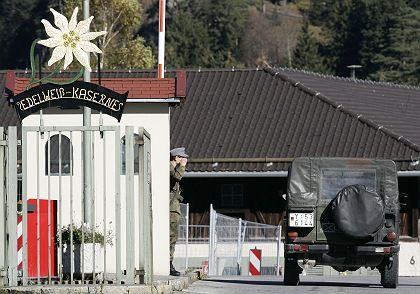 The Bundeswehr base in Mittenwald, Germany: Sent on missions without fundamental knowledge