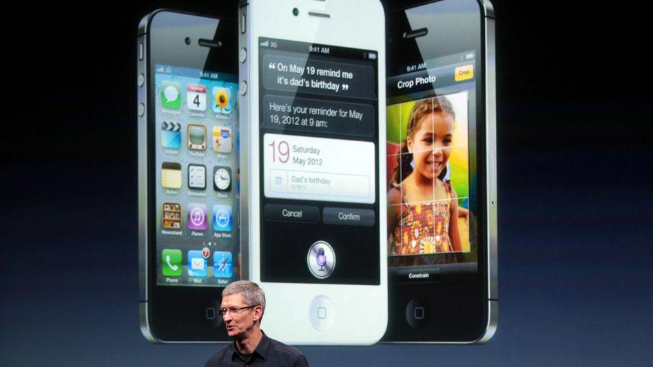 Apple-Boss Tim Cook: Smartphone-Marktführer, Tablet-Alleinherrscher