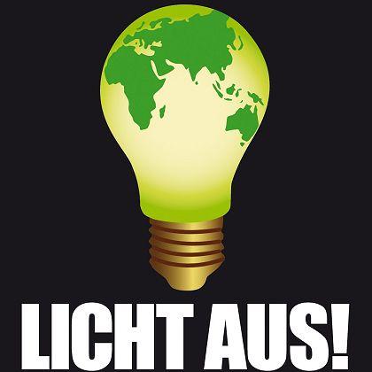 www.lichtaus.info: Symbolische Aktion für den Klimaschutz