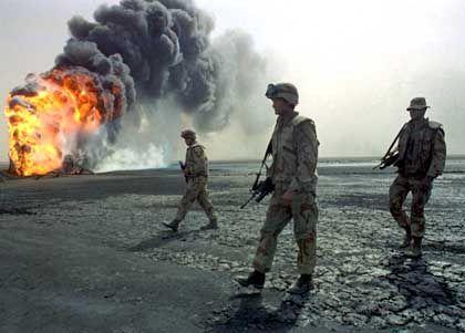 Brennende Ölquellen 1991: Sollen diesmal vermieden werden