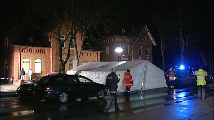 Tatort in Stolzenau: Die Polizei fahndet nach dem Täter