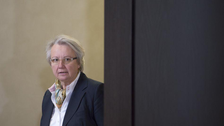 Annette Schavan (Archiv): Den Doktortitel will sich die Ministerin nicht nehmen lassen